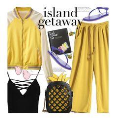"""Chic Island Getaway (casual)"" by beebeely-look ❤ liked on Polyvore featuring FOSSIL, Boohoo, Callisto, Miss Selfridge, casual, vacation, pineapple, sammydress and islandgetaway"
