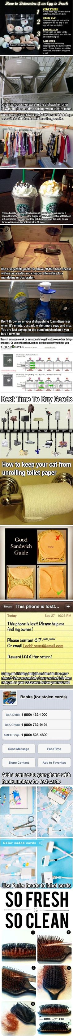 Just some life hacks  - funny pictures #funnypictures