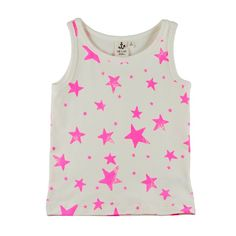 Tank Top Pink Stars From Berlin with Love: Noé & Zoë