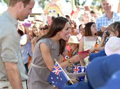 Prince William & Kate Middleton from Royal Family Down Under | E! Online
