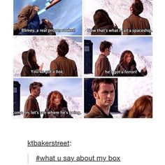 The TARDIS is better than that 'ferarri' any day