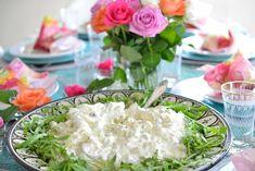 Verdens beste potetsalat - Farmors oppskrift - Franciskas Vakre Verden Potato Salad, Tapas, Cabbage, Grains, Sandwiches, Food And Drink, Potatoes, Baking, Dinner