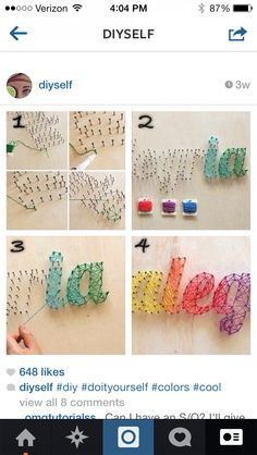 A cool way to write your name out