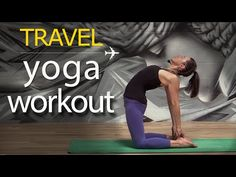 Yoga for Travel ✈ Power Yoga Workout - YouTube