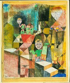 'Presentación del milagro', 1916. Paul Klee Acuarela. Museo de Arte Moderno de Nueva York (MoMA).
