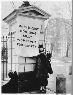 Find images of parades, marches, protests, and picketing the White House.