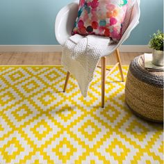 Found it at Wayfair.co.uk - Krista Yellow Outdoor Area Rug
