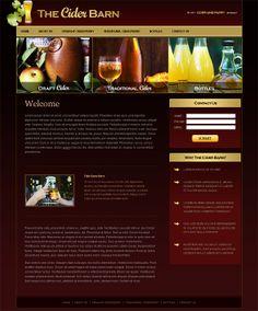 The Cider Barn on Behance