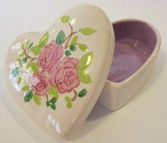 Vintage heart box