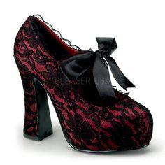 Demonia DEMON 11 Women s Heels   Platform Shoes 5