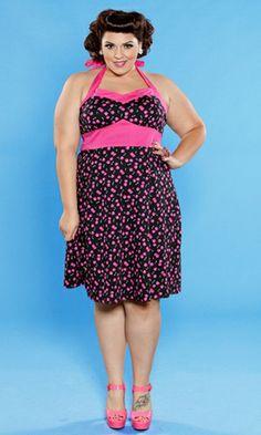 Nellie Halter Dress  Price: $109.00 (USD)   #plussize