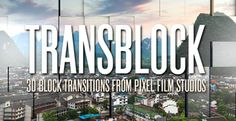 TRANSBLOCK™ PROFESSIONAL BLOCK TRANSITIONS FOR FCPX  Pixel Film Studios™ brings you TRANSBLOCK™, the ultimate block shape transition tool for FCPX! Take your film transitions to a whole new level with over 80 options to select from, all with unique looks and on-screen controls! From standard block shape flips, to tiling rotating options, this plugin will wow your viewers with any style film!