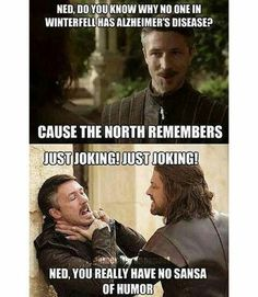 The North remembers :))))