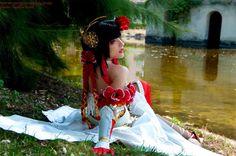 Yu Meiren - Dynasty Warriors by MoguCosplay.deviantart.com on @DeviantArt