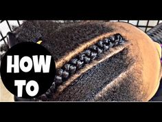#143. HOW TO CORNROW 4 BEGINNERS ONLY - YouTube