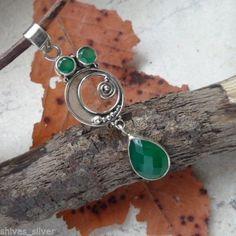 Indischer-Smaragd-Anhaenger-925-Sterling-Silber