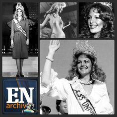 Irene Sáez, Miss Universo 1981. (ARCHIVO EL NACIONAL)