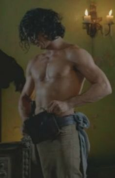Luke Arnold as John Silver, from the premiere of the new series Black Sails Luke Arnold, Black Sails, New Series, Hot Men, Pirates, Bodies, Eye Candy, Sailing