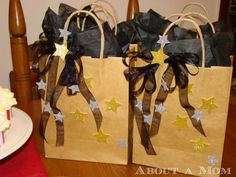 Award Show Party Ideas - Swag Bags #QuesoOccasions