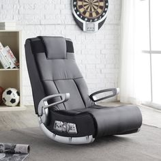 Video Game Chair X Rocker Speakers Wireless Gaming Seat Entertainment
