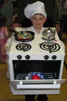 Halloween Costume :: Chef and Stove
