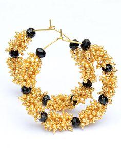 Mesmerising Attraction Hoops  #earrings #hoops