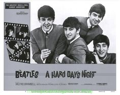 hard day's night movie poster