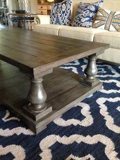 Balustrade Coffee Table