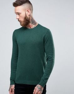 Get this Asos's knit pullover now! Click for more details. Worldwide shipping. ASOS Cotton Jumper In Blue - Green: Jumper by ASOS, Lightweight breathable knit, Crew neck, Ribbed trims, Regular fit - true to size, Machine wash, 100% Cotton, Our model wears a size Medium and is 191cm/6'3 tall. ASOS menswear shuts down the new season with the latest trends and the coolest products, designed in London and sold across the world. Update your go-to garms with the new shapes and fits from our ASOS…