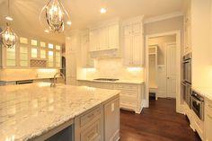 white granite kitchen