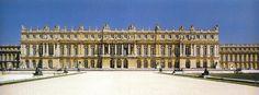 palacio de versalles paris - fachada del jardín