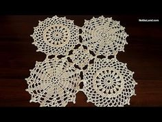 How to crochet tunic  Motive for tunic sweater top doily   Part 3