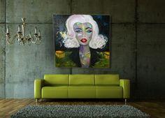 The war of Marilyn Monroe  2015 by IsabellaStefani on Etsy