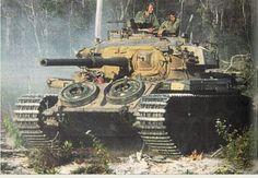 Mk 5 CENTURION. Australia's tank during Vietnam War.
