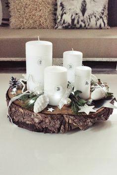 Christmas Is Coming, Christmas 2017, Rustic Christmas, Winter Christmas, Christmas Wreaths, Christmas Crafts, Advent Wreaths, Natural Christmas, Christmas Markets