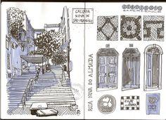 Lisbonne a croquer - voyagitudes