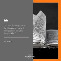 Fiecare dintre noi ne-am confruntat cu îngrijorarea. Mai mult de atât suntem conștienți că prezența ei în viața noastră nu va soluționa problema și nu va avea vreun aport în rezolvarea frământărilor. Cu toate acestea tot o experimentăm. Isus în predica de pe munte face un apel la credința noastră pentru lupta împotriva îngrijorărilor provocându-ne să ne uităm la purtarea de grijă a lui Dumnezeu față de lumea înconjurătoare. Cu cât credința în Dumnezeu e mai mare cu atât îngrijorările sunt… Leo Zodiac Facts, Pisces Zodiac, Francis Chan, Stay Strong Quotes, Moise, New Beginning Quotes, Friendship Day Quotes, Beth Moore, Teen Quotes