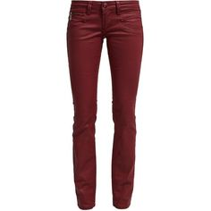 """Inner leg length: 30.0 """" (Size 27), Fastening: Covered zip-fly, trouser rise: low, Our model's height: Our model is 70.0 """" tall and is wearing size 27, Pattern…"""