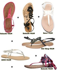 Sandaaltjes onder de 20 euro - Girlz.nl