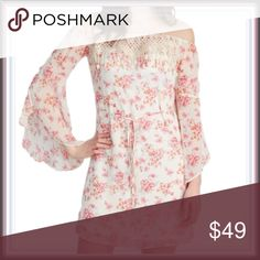ModCloth Boho Off The Shoulder Dress ➖BRAND: ModCloth ➖SIZE: Small ➖STYLE: Off the shoulder long sleeve boho chic style dress.  ❌NO TRADE 223901 ModCloth Dresses Long Sleeve