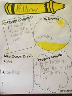 the day the crayons quit literacy activities - Google Search