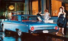 1962 Ford Galaxie 500; Enduring elegance with...