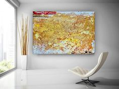 Abstract Oil Painting On Canvas Modern Oil Painting Hand image 1 Modern Oil Painting, Large Painting, Oil Painting Abstract, Abstract Wall Art, Colorful Artwork, Colorful Paintings, Kids Room Paint, Extra Large Wall Art, Office Wall Art