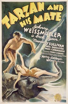 Tarzan and His Mate with Johnny Weismuller