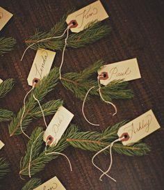 DIY Noël: 6 idées à faire avec des branches de sapin - Marie Claire Idées / marque place noel diy