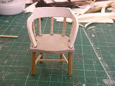 Evangelione: Tutorial for a chair