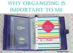 Why Organizing is Important to Me