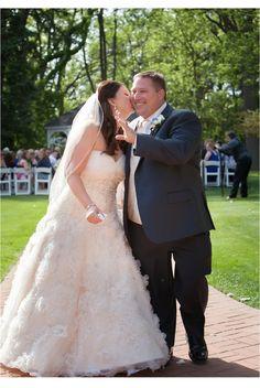 Just married!  The Longacre House Farmington Hills, MI