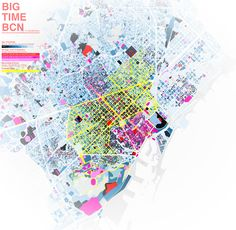 Stunning interactive map of Barcelona revealing the age of the City.