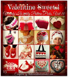 Wendy's Weekly Pattern Picks, Vol 10 - Valentine Sweets!